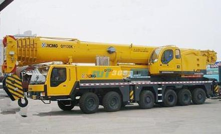 舟山130吨汽车吊出租